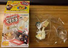 Gudetama Meets More Danger #4 Powder Covered Baking - Re-ment Mini Figure Toy