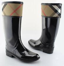 2fbc18d69451 item 1 Women s BURBERRY  Crosshill  Black Check Rubber Rain Boots Size US 8  EUR 38 -Women s BURBERRY  Crosshill  Black Check Rubber Rain Boots Size US  8 EUR ...