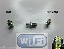 1 x RP-SMA To TS9 Antenna Adapter Converter RP SMA Jack to TS9 Plug Straight USA