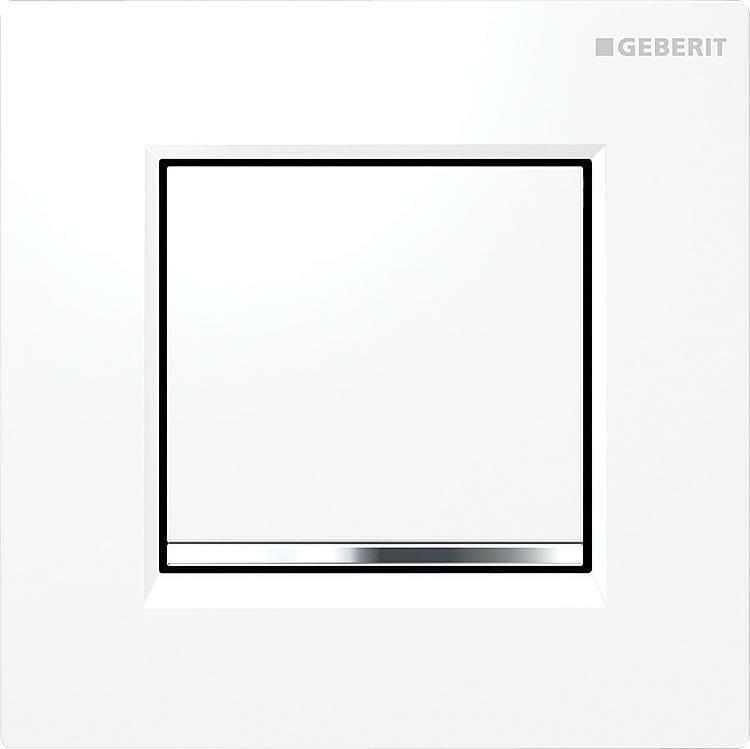 Geberit Urinal Pulsador Tipo 30 Neumática Activación blancoo 116.017.kj.1