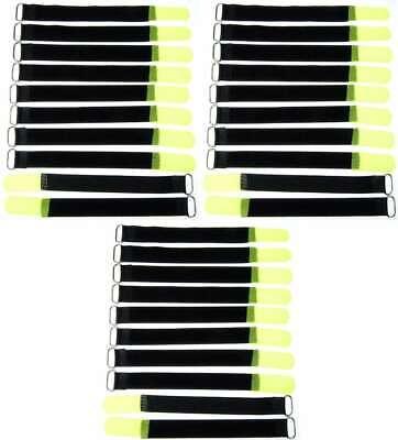30 Velcro Fascette Per Cavi 200 X 20 Mm Giallo Neon Velcro Fascette Per Cavi In Velcro Cavo Velcro-er 200 X 20 Mm Neongelb Klett Kabelbinder Klettband Kabelklett It-it Mostra Il Titolo Originale