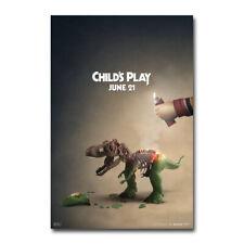 Child/'s Play Movie 2019 Chucky Horror Film 2 Art Silk Canvas Poster Print 24x36/'