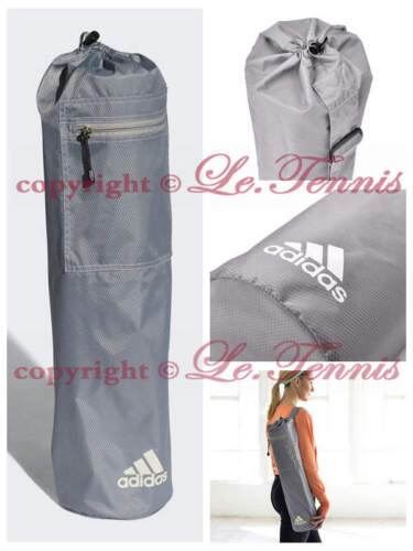ADIDAS Yoga Pilate Carrier Tote Exercise Gym Mat Bag with Carry Strap Grey