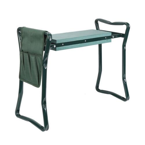 Heavy Duty Upgraded Garden Kneeler Thicken Seat Padded Kneeling Stool In//Outdoor