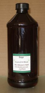 Details about Sage Clary Essential Oil 16 Oz Wiccan Craft Pagan Altar  Ritual Spell Special