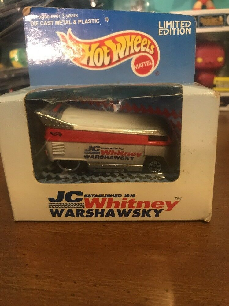 Mattel Hot Wheels 1996 question JC Whitney Warshawsky VW VOLKSWAGEN DRAG BUS en boîte