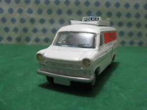 VINTAGE-FORD TRANSIT Van tipo 1 incidente Unità-DINKY SUPERTOYS 287