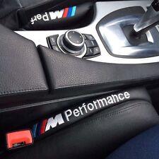2X Leather Car Seat Gap Filler Soft Pad Holster Blocker For BMW E30 E60 E90