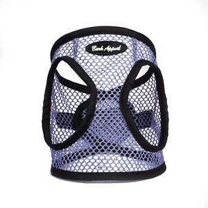 Bark-Appeal-EZ-Wrap-Netted-Dog-Step-In-Harness-Violet-Sizes-XXS-XL