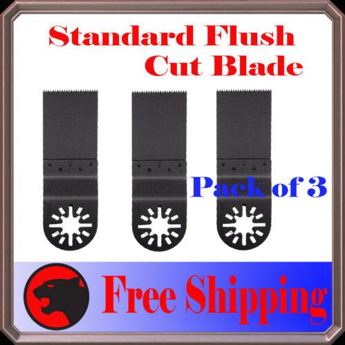 3 Fine Oscillating MultiTool Saw Blade For Fein Multimaster Milwaukee Ryobi Voss