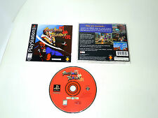 BATTLE ARENA TOSHINDEN complete in box not for resale NTSC PS1 playstation game