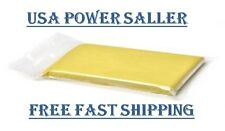 YELLOW CLAY BAR 200g CLEAN AUTO CAR WASH CARE DETAILING FINE COMMERCIAL  GRADE