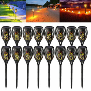 1-20pcs-96-LED-Solar-Path-Torch-Light-Flickering-Dancing-Flame-Garden-Lamp-IP65