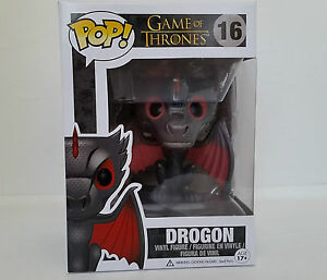 Drogon 1 FREE Official Game of Thrones Trading Card Bundle 3873 x Game of Thrones Vinyl Figure Funko POP
