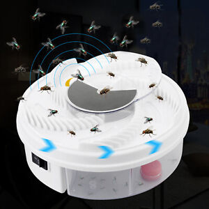 Electric-Fly-Catcher-Device-Fly-Trap-Killer-Pest-Killer-Cockroaches-Insects-Trap