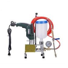High pressure injection pump - concrete crack repair - polyurethane and epoxy