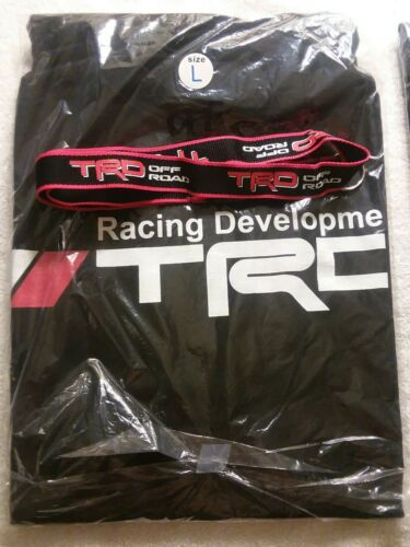 TRD TOYOTA RACING DEVELOPMENT OFF ROAD HOODIE SIZE LARGE Free key chain .