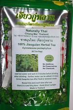 Jiaogulan té Herbal 30 grandes las bolsitas de té-Gynostemma Pentaphyllum
