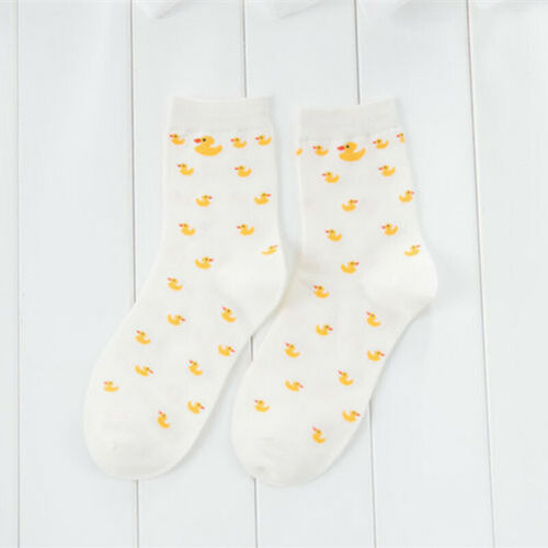 Men Women Fashion Duck Animal Casual Socks Cotton Winter Warm Long Lovely Socks