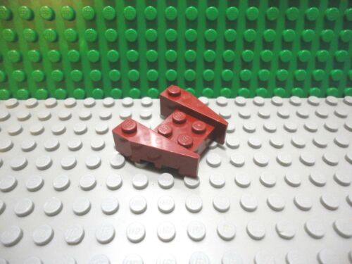 Lego 1 Dark Red 3x4 thick wedge with cut out shuttle ship airplane