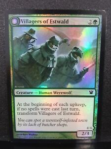 4x Villagers of Estwald Howlpack of Estwald Innistrad