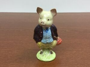 BESWICK-PIGLING-BLAND-BEATRIX-POTTER-FIGURINE-PIG-Marked-Perfect-Gold-Oval-mark