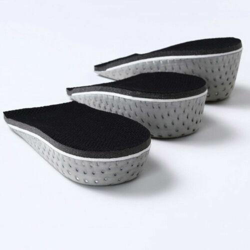 Unisex Insole Heel Lift Insert Shoe Pad Height Increase Cushion Elevator Taller