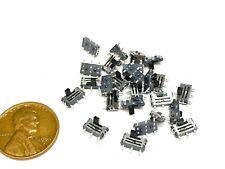 25 Pieces Slide Switch Mss 22c01 2p2t Dpdt 2 Poles 6 Pins Smd Terminal Mini E17