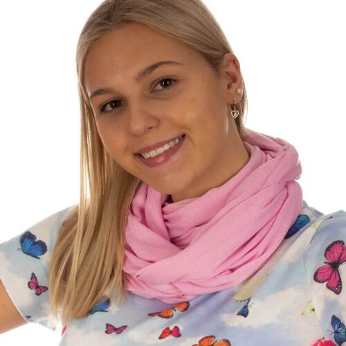 LOOP Damen Schlauchschal Rundschal Schal Loopschal Multifunktionstuch Halstuch