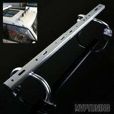 Silver Adjustable Gutter Mounting Roof Rack Light Bar for Off Road Light/LED Bar