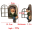 thumbnail 6 - Garden Gnome Home Decor Ornament Dwarf Funny Lawn Fun Decorations Figurine New