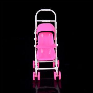 Bebe-poupee-chariot-poussette-chariot-jouets-pour-poupees-Barbie-accessoire-Vo