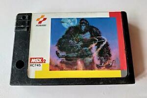 King-Kong-2-Yomigaeru-densetsu-MSX-MSX2-action-Game-cartridge-only-tested-a89