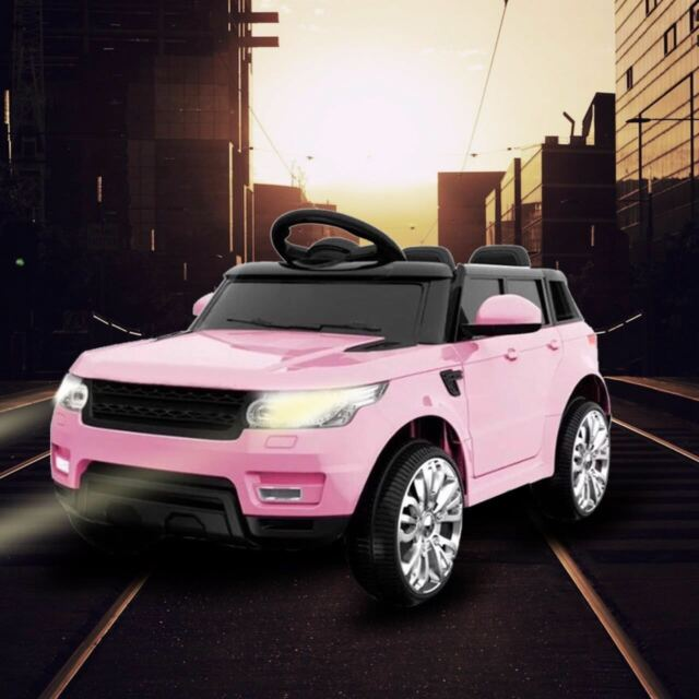 fedc9eb904d 2018 RANGE ROVER SPORT HSE STYLE ELECTRIC 12V KIDS BATTERY RIDE ON JEEP CAR -PINK