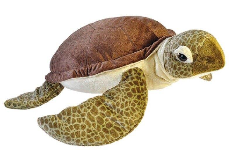 Green Sea Turtle 76 cm Plush Animal Stuffed Animal Wild Republic