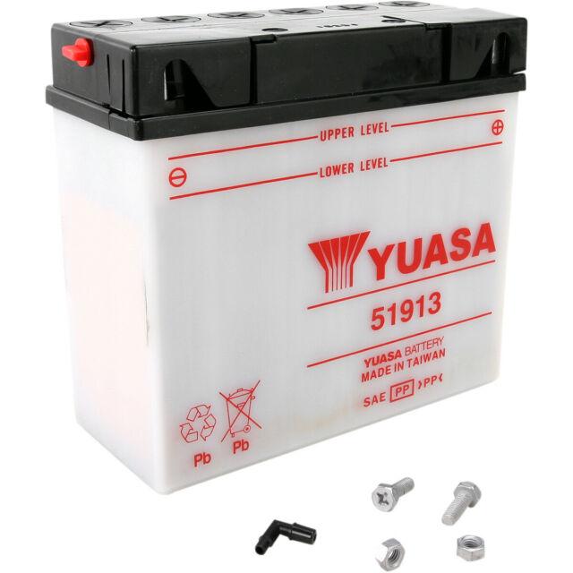 Batterie Moto Quad  YUASA 51913 conventionnelle 12V 19Ah