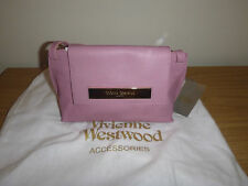 Brand New With Tags Vivienne Westwood London Maddox Leather Cross-body Bag