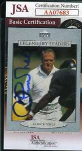 Chuck-Noll-1997-Upper-Deck-Autograph-Jsa-Coa-Authentic-Hand-Signed
