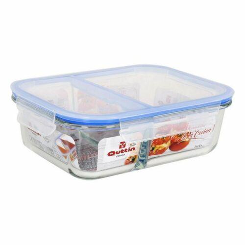 Lunchbox Quttin Glas Fächer 1400 Cc
