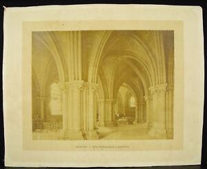 Photographie originale Eglise souterraine de la cathédrale de Bourges c1870 28cm TWPn6LBS-09162827-641674858