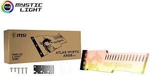 MSI RGB LED Video Card Holder ATLAS Mystic ARGB V2.0 3-pin 5V Fast Ship Japan