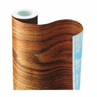 Ultra Honey Oak Adhesive Contact Paper, New, Free Shipping on sale