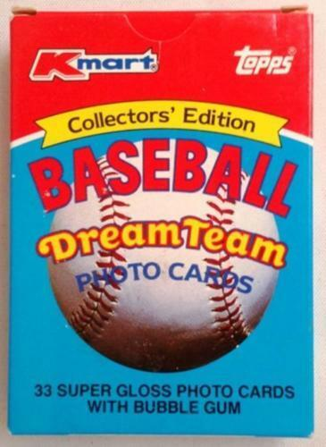 1989 Topps Kmart Dream Team Box Set 33 Cards