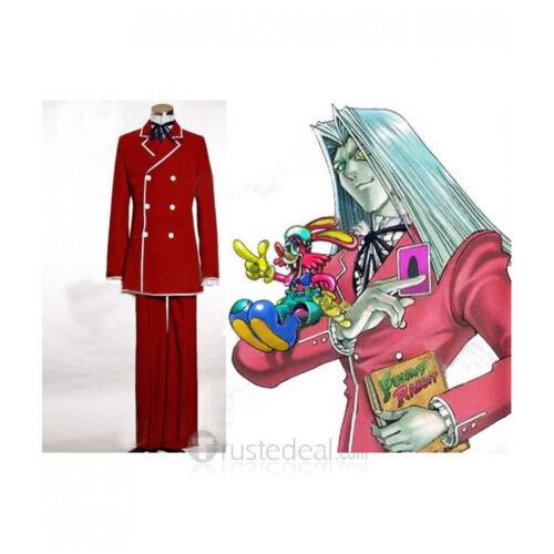 NUOVA YUGIOH! maximillion Pegasus Vestito Rosso Costume Cosplay HH.1589