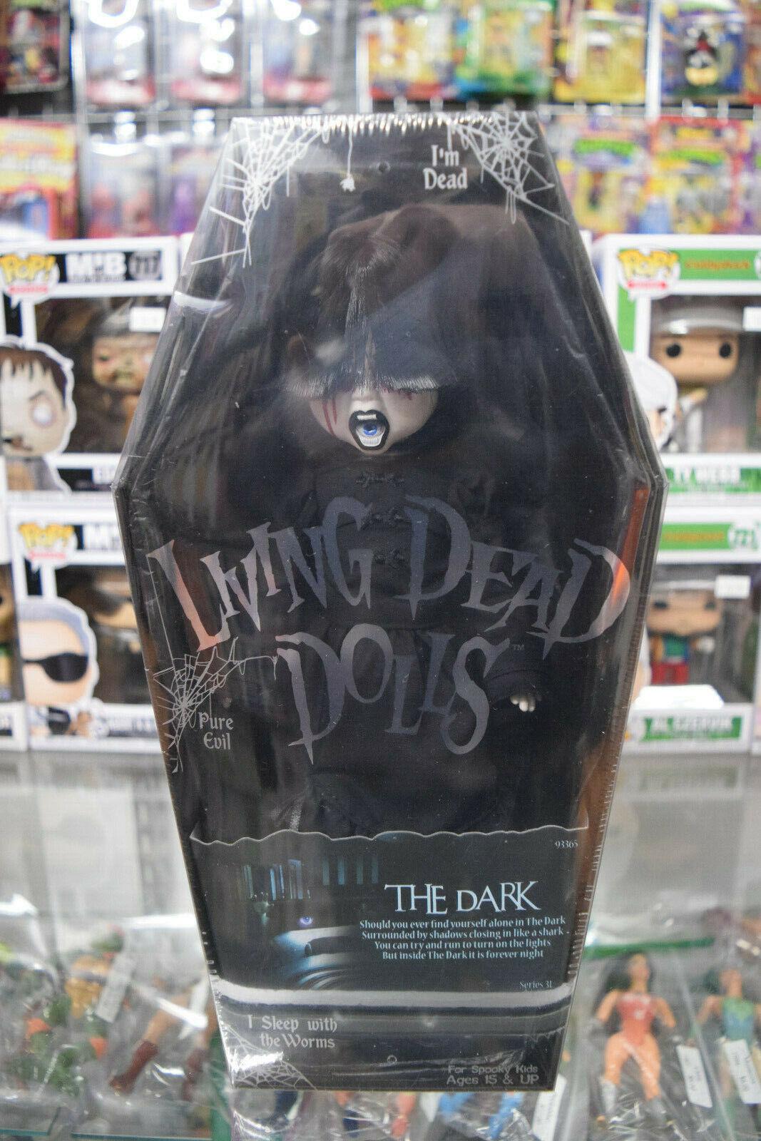 The Dark Series Series Series 31 Living Dead bambolas LDD Sealed Coffin scatola 2015 8ab658