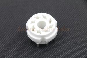 1pc Ceramic Octal 8pin PCB tube socket for EL34 6V6 6L6 KT88 6BG6 ect
