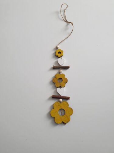 Nouveau en bois oiseaux fleurs Hiboux ornements suspendus pendentif Maison Fenêtre Décoration Cadeau