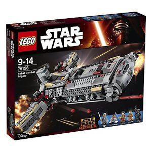 LEGO Star Wars 75158  - La fregate de combat rebelle
