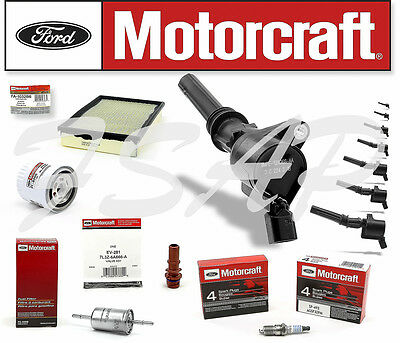 98-2011 CROWN VIC MARQUIS TOWN C 8 DELPHI COIL DG508 /& 8 MOTORCRAFT PLUGS SP493