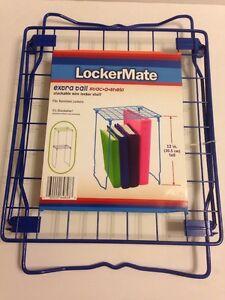 New Blue Extra Tall Wire Locker Shelf Stac A Shelf